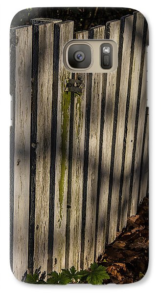 Galaxy Case featuring the photograph Welcome To The Backyard by Odd Jeppesen