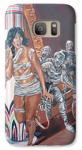 Galaxy Case featuring the painting Well Preserved by Bryan Bustard