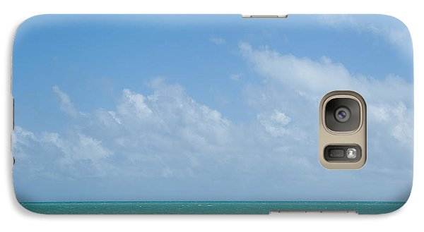 Galaxy Case featuring the photograph We'll Wait For Summer by Yvette Van Teeffelen