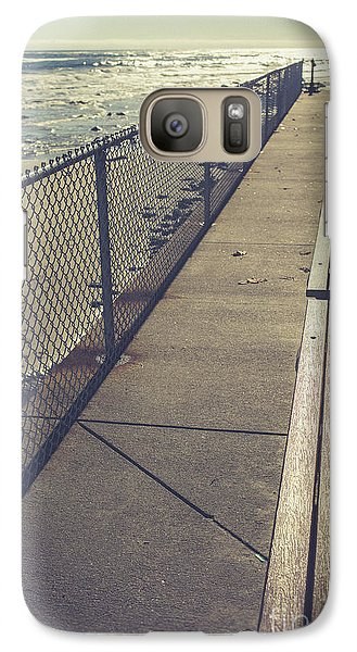 Galaxy Case featuring the photograph Wells Beach Maine by Edward Fielding