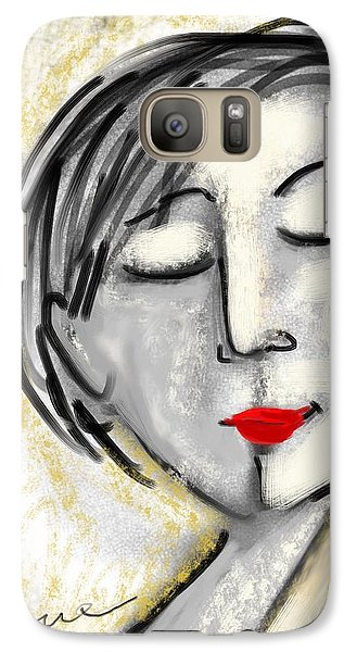 Galaxy Case featuring the digital art Wendy by Elaine Lanoue