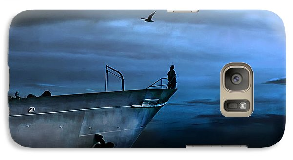 West Across The Ocean Galaxy S7 Case
