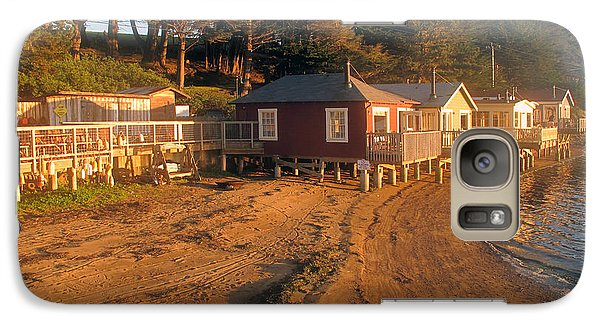 Galaxy Case featuring the photograph West Marin Nick's Cove Cottages by Dianne Levy