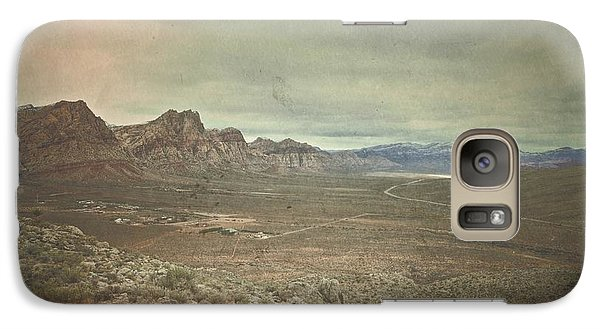 Galaxy Case featuring the photograph West by Mark Ross