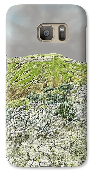 Galaxy Case featuring the digital art West Of The Hill Country by Kerry Beverly