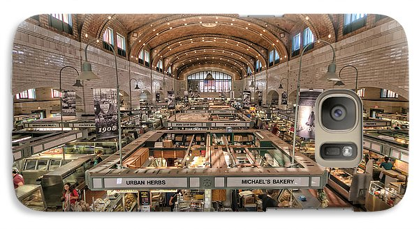 Galaxy Case featuring the photograph West Side Market by Brent Durken