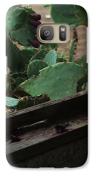 Galaxy Case featuring the photograph West Texas View by Travis Burgess