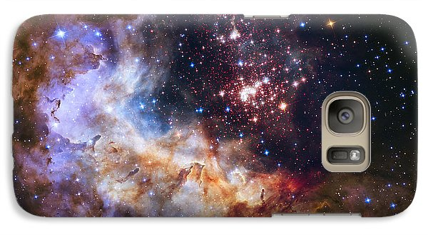 Westerlund 2 - Hubble 25th Anniversary Image Galaxy S7 Case by Adam Romanowicz