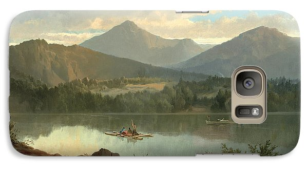 Mountain Galaxy S7 Case - Western Landscape by John Mix Stanley