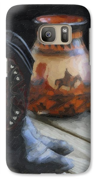 Galaxy Case featuring the photograph Western Still Life by Kenny Francis