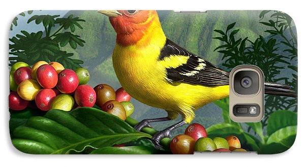 Western Tanager Galaxy Case by Jerry LoFaro