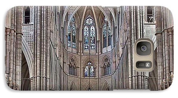 Galaxy Case featuring the photograph Westminster Abbey by Digital Art Cafe