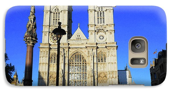 Westminster Abbey Galaxy S7 Case - Westminster Abbey London England by Irina Sztukowski