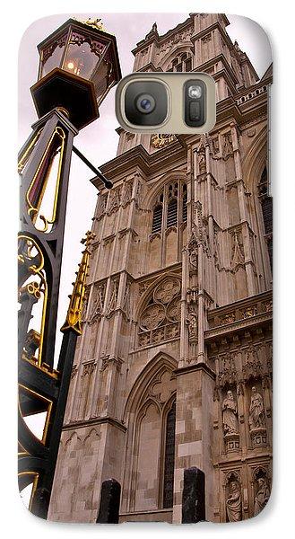 Westminster Abbey Galaxy S7 Case - Westminster Abbey London England by Jon Berghoff