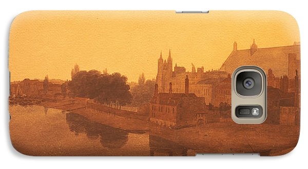 Westminster Abbey  Galaxy S7 Case by Peter de Wint
