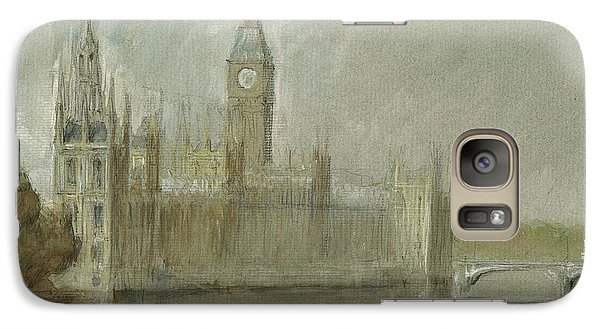 Westminster Palace And Big Ben London Galaxy S7 Case