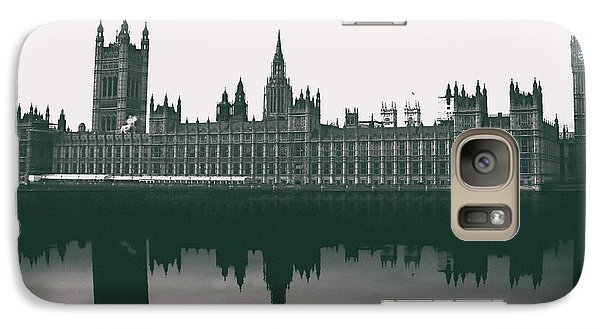 Westminster Abbey Galaxy S7 Case - Westminster Reflection by Martin Newman