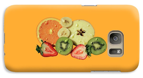 Galaxy Case featuring the photograph Wet Fruit by Shane Bechler