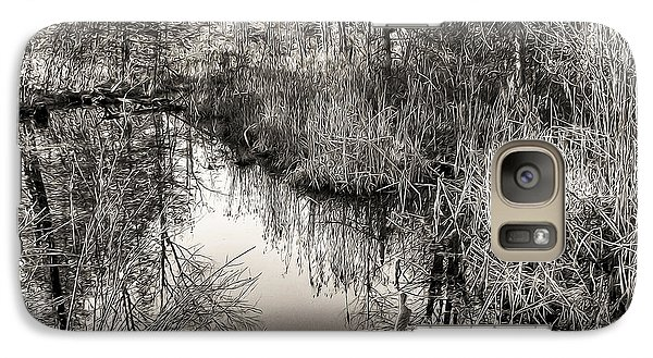 Galaxy Case featuring the photograph Wetland Essence by Betsy Zimmerli