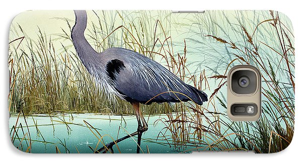 Galaxy Case featuring the painting Wetland Beauty by James Williamson