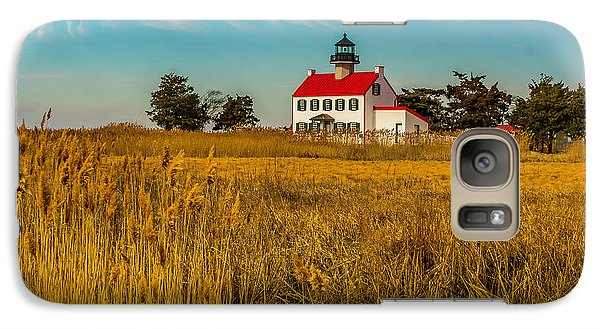 Galaxy Case featuring the photograph Wetlands At East Point Light by Nick Zelinsky
