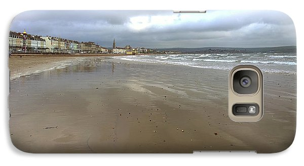 Galaxy Case featuring the photograph Weymouth Morning by Anne Kotan