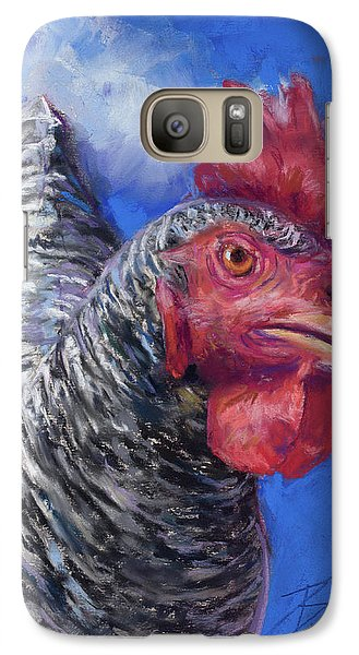 Galaxy Case featuring the pastel What Do You Want by Billie Colson