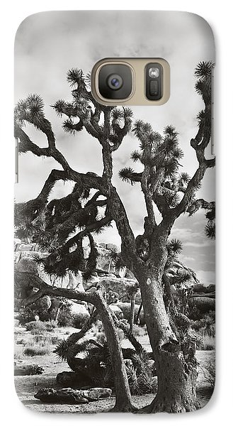 Desert Galaxy S7 Case - What I Wouldn't Give Bw by Laurie Search