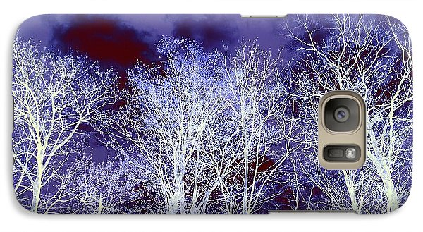 Galaxy Case featuring the photograph What Lies Above by Shana Rowe Jackson