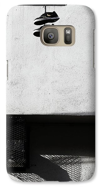 Galaxy Case featuring the photograph What That For Me  by Empty Wall