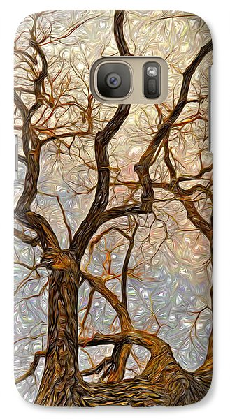 Galaxy Case featuring the digital art What We See The Mind Believes by James Steele