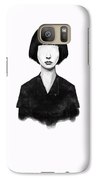Portraits Galaxy S7 Case - What You See Is What You Get by Balazs Solti