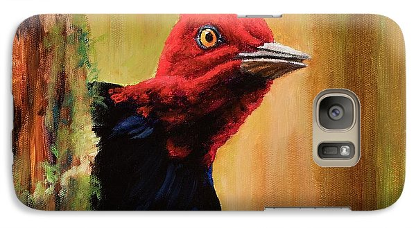 Galaxy Case featuring the painting Whats Up? by Igor Postash