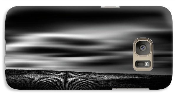 Galaxy Case featuring the photograph Wheat Abstract by Dan Jurak