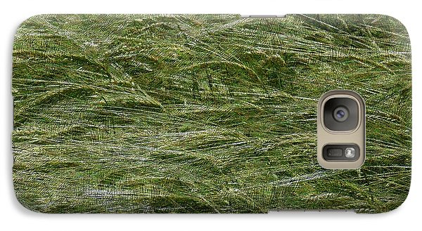 Galaxy Case featuring the photograph Wheat Field by Jean Bernard Roussilhe