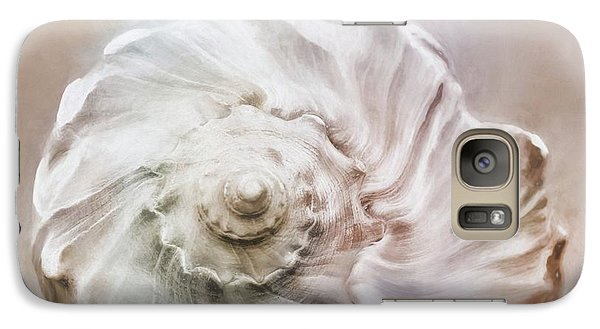 Galaxy Case featuring the photograph Whelk Shell by Benanne Stiens