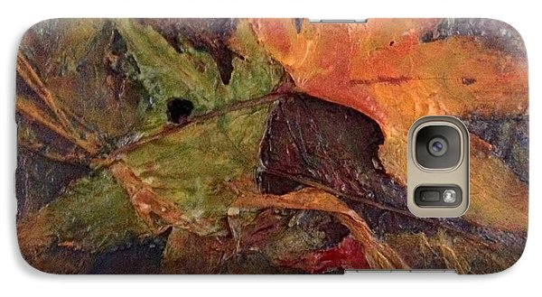 Galaxy Case featuring the painting When Autumn Comes... by Helen Harris