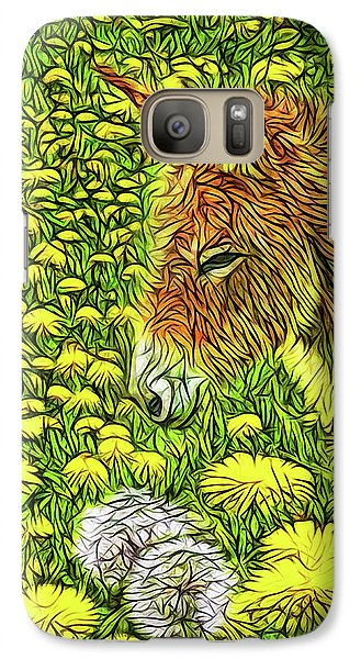 When Donkeys Speak Galaxy S7 Case by Joel Bruce Wallach
