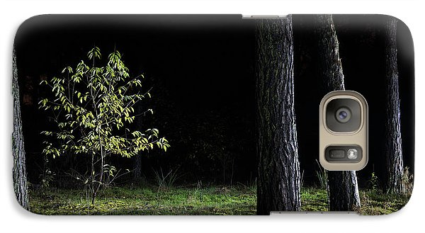 Galaxy Case featuring the photograph When First Leaves Start To Fall - Autumn by Dirk Ercken