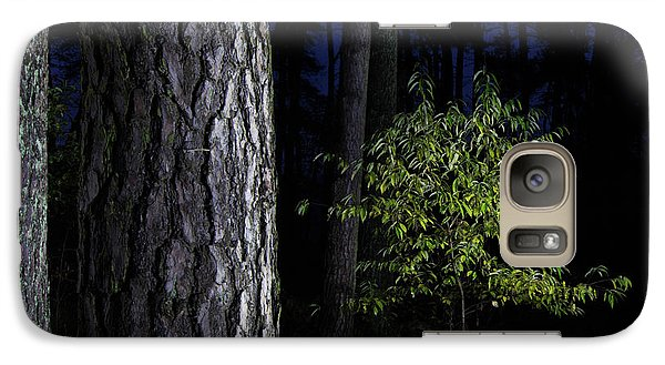 Galaxy Case featuring the photograph When First Leaves Start To Fall by Dirk Ercken