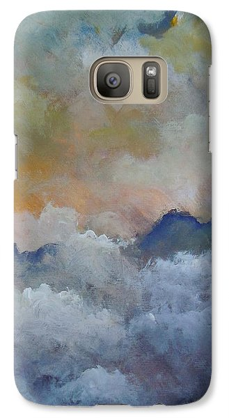 Galaxy Case featuring the painting When I Consider Your Heavens Psalm 8 by Dan Whittemore