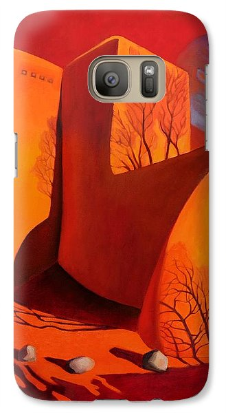 Galaxy Case featuring the painting When Jupiter Aligns With Mars by Art West