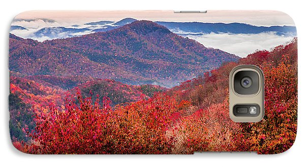 Galaxy Case featuring the photograph When Mountains Sing by Karen Wiles