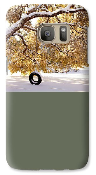 Galaxy Case featuring the photograph When Winter Blooms by Karen Wiles