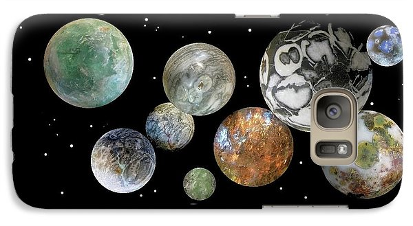 Galaxy Case featuring the photograph When Worlds Collide by Tony Murray