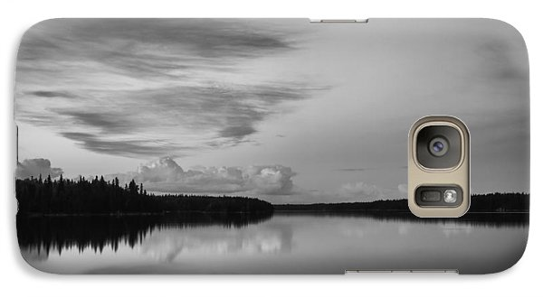 Galaxy Case featuring the photograph When You Look At The World What Is It That You See by Yvette Van Teeffelen