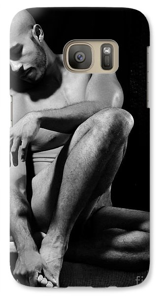 Galaxy Case featuring the photograph Where Does It Hurt by Robert D McBain