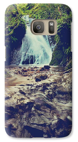 Galaxy Case featuring the photograph Where It All Begins by Laurie Search