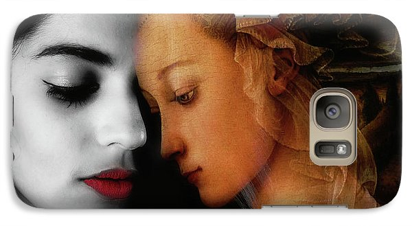Galaxy Case featuring the digital art Where The Wild Roses Grow  by Paul Lovering