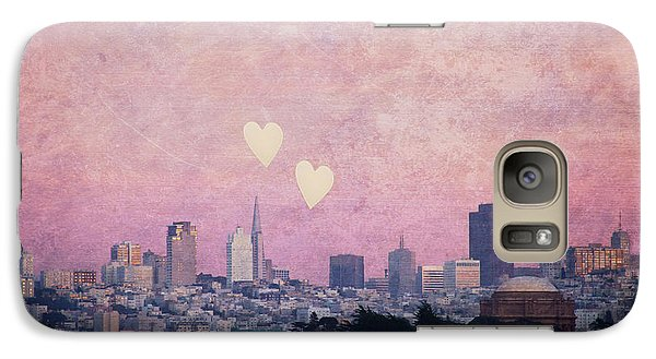Galaxy Case featuring the photograph Where We Left Our Hearts - Sf Photography by Melanie Alexandra Price